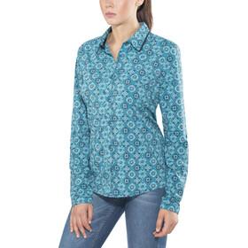 Sherpa Chakra LS Shirt Women Blue Tara